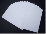A3 Mount Board White (Pack of 10) 1500 microns white board backing modelling