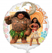 Moana Maui Helium Balloon Disney Movie Kids Birthday Party Theme Decoration