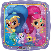 Shimmer And Shine Genie Helium Balloon Nickelodeon Kids Party Girls Decoration