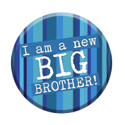 I'm A New Big Brother Badge 58mm Congratulations New Baby Gift Sibling