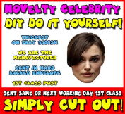 DIY - Do It Yourself Face Mask - Keira Knightley Celebrity Face Mask