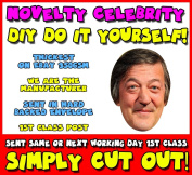 DIY - Do It Yourself Face Mask - Stephen Fry (3) Celebrity Face Mask