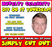 DIY - Do It Yourself Face Mask - James Corden Celebrity Face Mask