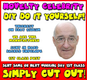 DIY - Do It Yourself Face Mask - Jim Bowen Bullseye Celebrity Face Mask