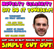 DIY - Do It Yourself Face Mask - Juan Mata Celebrity Face Mask