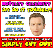 DIY - Do It Yourself Face Mask - Ewan-Mcgregor_sc Celebrity Face Mask