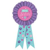 Amscan International 210462 Award Ribbon Award Big Sister