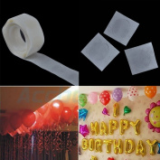 Sovition 2Pcs Balloon Attachment 100 Glue Special Double-Side Adhesive Tape Balloon Sticks Craft Roller Stickers