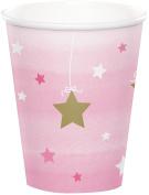 Twinkle Twinkle Little Star Pink Cups