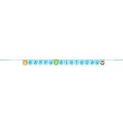 One Is Fun Boy Happy Birthday Ribbon Banner. 3.03m 324605
