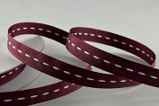 10mm Stitched Colour Woven Ribbon X 50 Metre Rolls!!