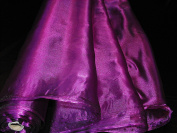 PRESTIGE TWO TONE CRYSTAL ORGANZA VOILE BRIDAL DANCE DRESS FABRIC MATERIAL 150CM WIDE