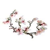 Veroda 1Pcs Popular DIY Orchid Applique Embroidery Lace Applique Orchid Motifs