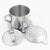 CHIC*MALL Household Stainless Steel Drip Filter Coffee Pot