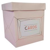 Neviti - Geo Blush - Wedding Card Post Box