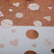 Neviti - Geo Blush - Table Scatter Confetti
