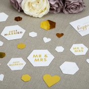 Neviti - Scripted Marble - Table Scatter Confetti