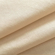 SAMPLE ONLY - MEDIUM WEIGHT EXTRA WIDE 180cm WIDTH 100% COTTON NATURAL COLOURED CALICO CURTAIN SOFA DRAPE PLAIN WOVEN QUILTING CRAFT LINING