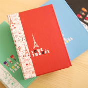 Affe 1 Pcs/Lot Flying over London Painting Notepad Combination Sticky Notes N Times Posted Notepad-Memo Pads-Sticky Note-Label