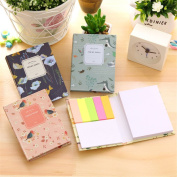 Affe 4 Pcs/Lot Cute Painting Notepad Combination Sticky Notes N Times Posted Notepad-Memo Pads-Sticky Note-Label