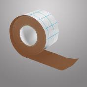 Filmoplast T Acid Free Adhesive Fabric 240 micron, Various Colours, brown, 10m x 5cm