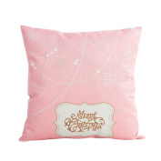 Pillow Case, Keepwin Merry Christmas Printed Sofa Bed Home Party Decor Pillow Cover Cushion Cover