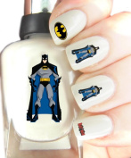 Easy to use, High Quality Nail Art Decal Stickers For Every Occasion! Ideal Christmas Present / Gift - Great Stocking Filler Batman