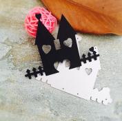 Janly® Customised Girls /Castle / Hand/ Bike Stencil Metal Cutting Dies Cut Practise Hands-on DIY Scrapbooking Album Craft Dies