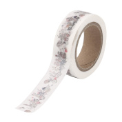 Buimin Retro Cute Little Pattern Printing Paper Tape Mask Decoration Tape Roll
