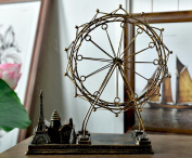 JIANGU, Ferris wheel model, romantic creative model, living room decoration Decoration, holiday gifts