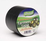Ultratape Black Silage Farmers Tape 75mm x 20m