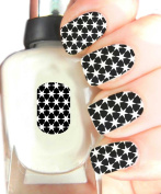 Easy to use, High Quality Nail Art Decal Stickers For Every Occasion! Ideal Christmas Present / Gift - Great Stocking Filler Star Pattern