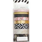Heidi Swapp Magnolia Jane Washi Tape Rolls 8/Pkg-