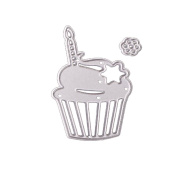 Janly® Customised Cute Animals Cutting Dies Cup Cakes Stencils Scrapbooking Embossing DIY Crafts for Festival Party