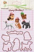 Metal Cutting Dies Stamp Stencils Girls / Babys / Animals / Happy Birthady / Winter , Janly® 18 Style DIY Scrapbooking Photo Album Decor Embossing Cards