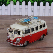 Retro iron classic car model creative home decoration gifts , a