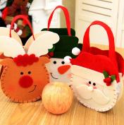 AccMart Santa Claus Elf Spirit Candy Bag Christmas Gift Bags Christmas Present Candy Bags for Kid Children Wedding Holiday New Year Holiday Christmas Decorations