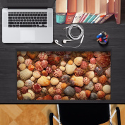 3D Stylish Personalised Creative Desktop stickers waterproof and dustproof oil can be replaced without adhesive stickers,70x36cm