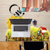 3D Stylish Personalised Creative Desktop stickers waterproof and dustproof oil can be replaced without adhesive stickers,80x47cm