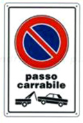Staging Plastic Sign Ban Step carrabile cm Extra Thick Plastic 20 x 30
