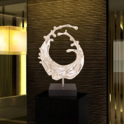 PENG Artistic abstract sculpture Decoration hotel clubhouse model room creative home soft ornaments resin crafts