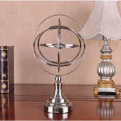 PENG Iron Globe Office Office Decoration Crafts Iron Stereo Suspension House Decoration