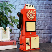 PENG Retro metal crafts phone photography props retro decoration props decorated decorative ornaments