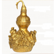 PENG Pure copper gourd gossip gourd Decoration Eight Immortals sea home metal crafts furnishings