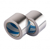 Zhi Jin Safety Aluminium Foil Tape 50mm Adhesive Heat Resistant Shielding Reflecting Insulation Tapes 20M/21.9yd