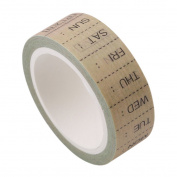 Chinget Decorative Washi Tape Week Plan Theme Masking Tape for Album Scrapbooking DIY