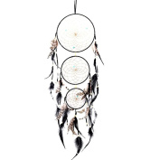 Hanging Decoration, Xinantime Handmade Lace Dream Catcher Feather Bead Hanging Decoration