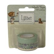 RAYHER - 58092000 - Lillibet Blue Washi Tapes, 8 M, SB-Btl 2 pcs