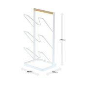 White Japanese Style Home Pot Stand, Export Japanese Kitchen, Nordic Sit Type Storage Rack, 335Mm * 160Mm * 130Mm