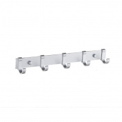 xiuxiandianju Kitchen Furniture Towel BarTowel Racks Rails Stands Coat Racks Rings Bedding & Linens Kitchen Space aluminium hook up kitchen wall Hanging , 5005-5 hook